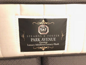 Mattress and Bed frame - Stearns & Foster
