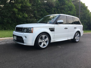 2011  Range Rover Sport GT Low KM's !!! No Accidets