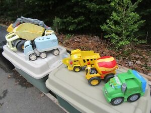 TOY TRUCKS - LOT OF 5