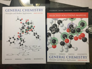 CHEM 1000/1001 General Chemistry - 10th Edition with Solutions
