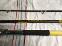 Beach fishing rod, Shakespeare Hurricane