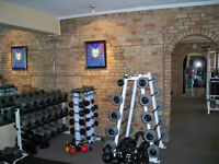 PT studio looking for trainers w/clients to rent space d-town.