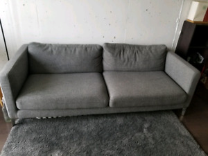 Structube Comfortable Gray Couch