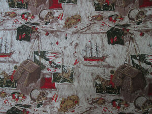 NEW Man Cave/Lodge/Fishing excellent quality fabric 10 yards London Ontario image 5