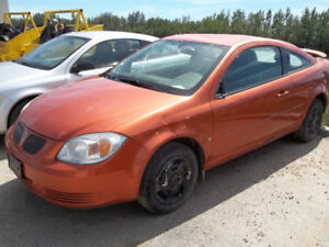 2006 PONTIAC G5 PURSUIT COUPE 2.2L AUTOMATIC ORANGE