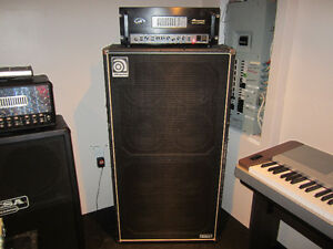 Ampeg SVT-2 Pro + Ampeg SVT-810E USA (Échange Possible)