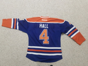 Taylor Hall Signed Oilers Jersey