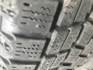 4 winter tires bridgestone 195/65/14