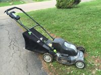 Earthwise 24Volt Electric Cordless Lawnmower $20!!!
