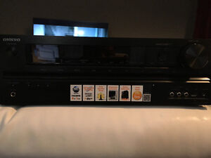 Brand new Onkyo 1000w rms amp, HDMI, USB, Optical Kitchener / Waterloo Kitchener Area image 1