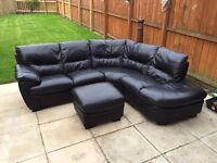 Corner couch £350