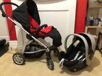 Mamas and papas sola travel system pushchair