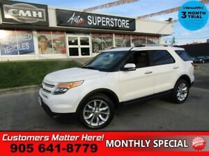 2014 Ford Explorer Limited  4X4 LEATHER NAV CAM ROOF 2X P SEATS