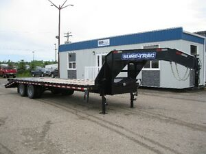 2016- Sure Trac- 20'+5' Low Profile Gooseneck Trailer (22.5K)