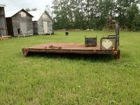 14 foot steel truck deck