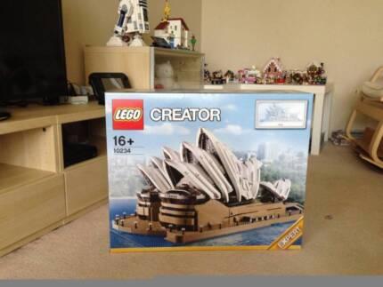 Sydney Opera House Lego Compatible Brick Set 10234 Toys Indoor