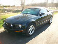 2008 MUSTANG GT Convertible 4.6 L AUTOMATIC
