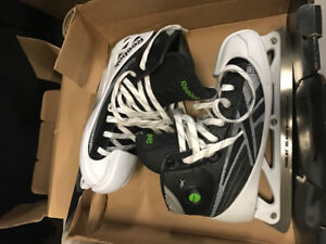 Brand new hockey and figure skates in box