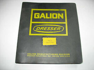 Galion Shop Manual