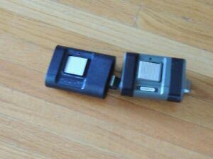 2 Stanley Garage Door Remote Controls