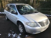 Chrysler grand voyager limited xs