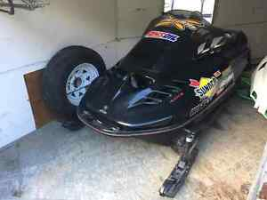 1996 Mach Z 800 Grass Drag Sled