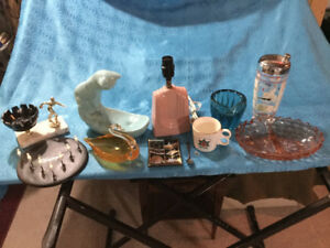 Mid Century Glass Ceramics Tiki and more!