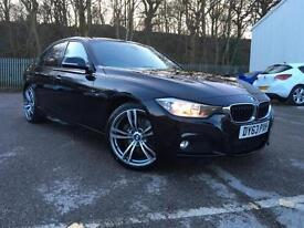 63 PLATE BMW 330D M SPORT AUTOMATIC+BIG WHEELS+NO DEPOSIT FINANCE