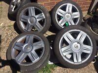 "4x100 16"" alloy wheels, 195/45/16, Renault Clio - BMW e30 - SWAP/DEAL"