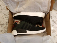 Adidas NMD R2 Core Black/Future Harvest Sz 10