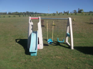 Swing and Play set   ( Step Two)
