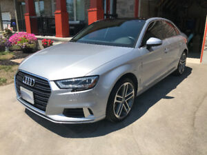$2,000 Incentive Lease Take-Over 2017 Audi A3 Quattro Progressiv