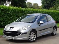 Peugeot 207 2006 1.4 16v 90 ( a/c ) S***GENUINE LOW MILES + 2 KEYS***