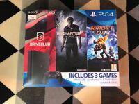 PS4 slim 1TB 3 games brand new