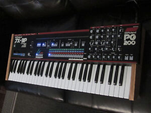 VINTAGE ROLAND JX3P + PG200 -- YAMAHA DX5 FM Synth TRADES