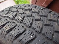 4-p195/65r15  winter  tires