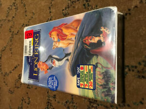 Disney Masterpiece Collection The Lion King VHS