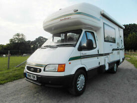 Autosleeper Pescara - End Kitchen - Reversing Camera - Rear Air Suspension