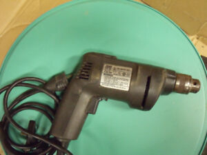 Drill 3/8th Black and Decker Industrial