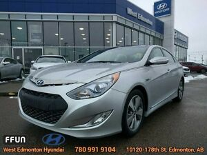 2012 Hyundai Sonata Hybrid Limited leather navigation
