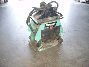 HYDRAULIC PLATE COMPACTOR FOR SALE OR TRADE