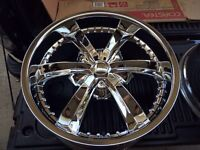 "20"" Cattivo Rims and tires"