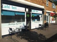 Cafe lease for sale colchester