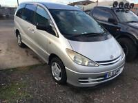 2002/51 Toyota Previa 2.4 VVTi 8 st GS FULL MOT TOP SPEC