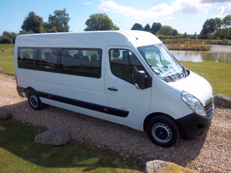 2013 / 63 Vauxhall MOVANO F3900 L3H2 CDTI 16 Seat Minibus