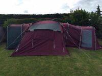 8 berth luxury tent
