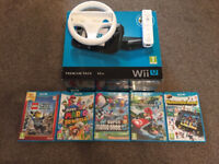Wii u 32gb premium pack with 5 great games
