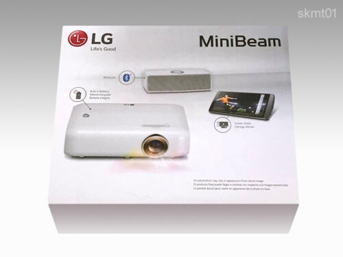 LG PH550G LED Portable Projector approximately 30000 Hours HD 550Lm DHL Fast NEW