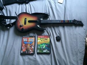 Juiced guitar hero 1 et 2 PS2