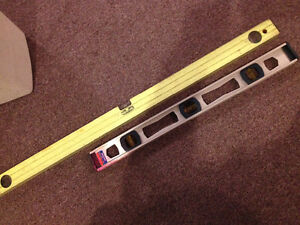24 inch  level - $10- YELLOW 1 IS SOLD!!